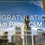 Adi Peery Earns Certified Shopping Center Manager Designation