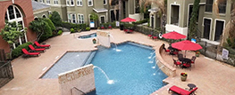 Kings Cove, a Houston multifamily property is among the first multifamily complexes in the area to open.