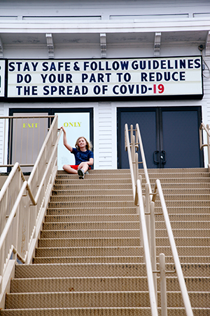 Stay Safe Covid Sign